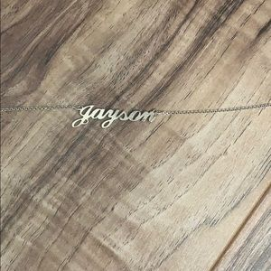 Jason name necklace